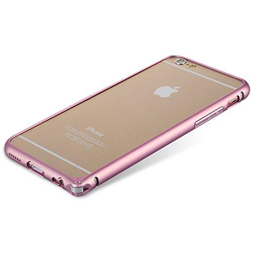 iPhone 6 Plus Case, [Aluminum Metal Frame] Aerb Titanium