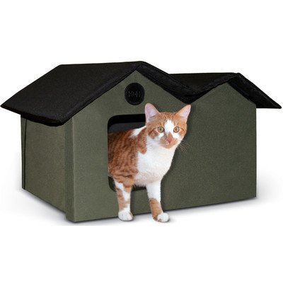 K&H Manufacturing Outdoor Kitty House Extra-Wide (unheated), 26.5