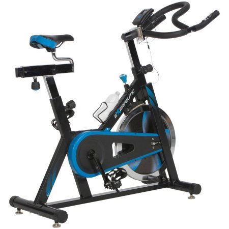 48.80 x 47.20 x 19.90 Indoor Cycling Exercise Bike With Computer & Heart Pulse Sensors, 300 Lbs