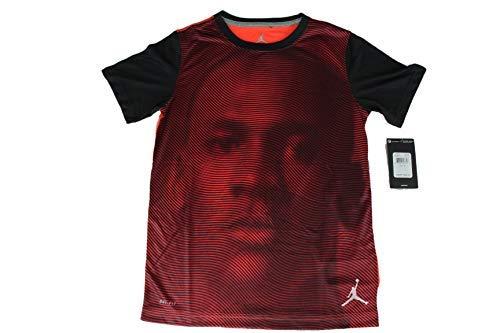 - Jordan Tee Shirt Infrared Youth Size Medium to XL New Dri-Fit Comfortable Stylish (L)