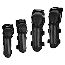 Dovewill Motorcycle Elbow and Knee Shin Pads Guards Brace Motocross Riding Skiing Protective Gear