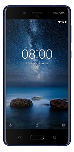 Nokia 8  Tempered Blue, 64  GB