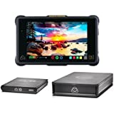 "Atomos Shogun Inferno 7"" Monitor/Recorder RAW ProRes and DNxHR - Bundle with G-Technology Master Caddy 4K 512GB SSD, G-Technology ev Series Reader Caddy Edition Enclosure, 1920x1200"