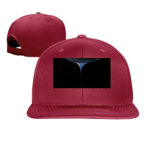 (Bright Liquid Crystal Fashion Men and Women General Truck Drivers Hip-Hop Baseball Caps Red)