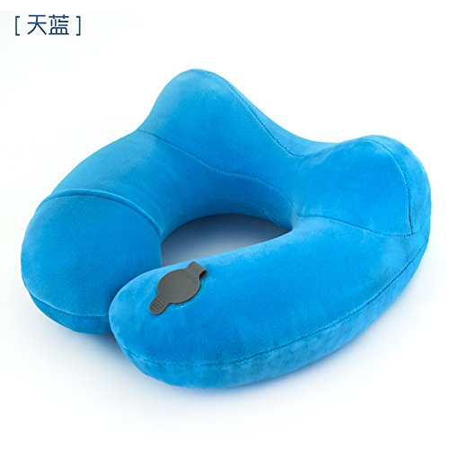xiuxxxliu64 U, tipo, almohada, hinchable cuello protección ...