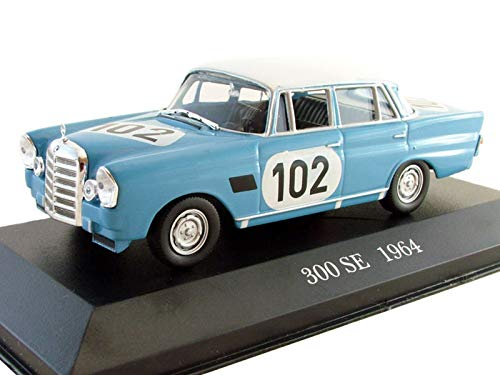 (Mercedes-Benz 300 SE 1964 Year German Rally Car 1/43 Collectible Model Vehicle Big-Block Six-Cylinder Engine Car by Automotive Manufacturer Mercedes-Benz)