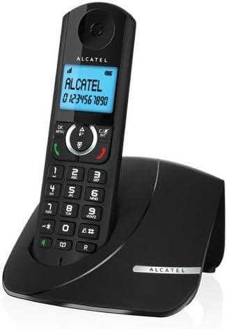 Alcatel F 380 - Teléfono inalámbrico, color negro: Amazon.es: Electrónica