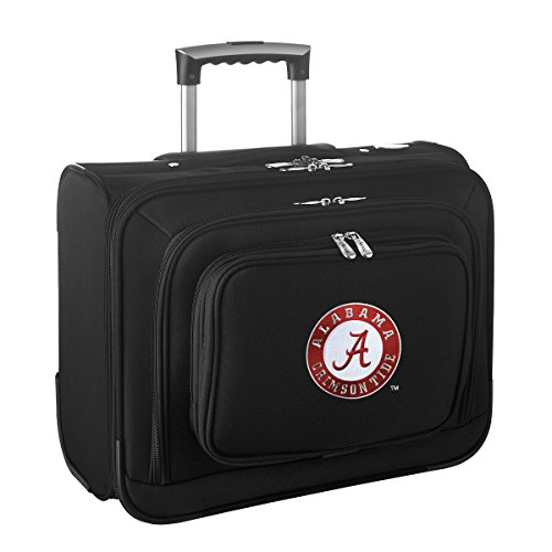 NCAA Alabama Crimson Tide Wheeled Laptop Overnighter