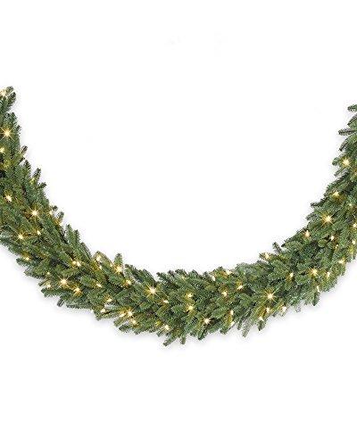 Balsam Hill Fraser Fir Prelit Artificial Christmas Garlan...
