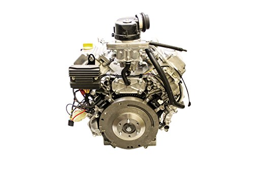 27hp Horizontal 1-1/8''x4'' Keyed Shaft, Twin, Water Cooled, ES, 30 Amp Alternator, Fuel Pump, No Radiator, fits some Exmark Kawasaki Engine by Kawasaki