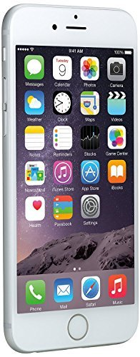 Apple iPhone 6, AT&T, 16GB – Silver (Certified Refurbished)