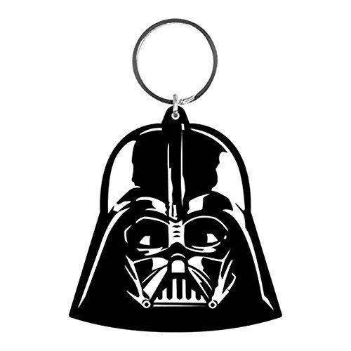 Star Wars - Rubber Keychain / Keyring (Darth Vader Helmet) (Size: 2