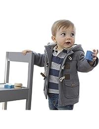 Unisex Baby Fleece Hooded Jacket Outerwear Duffle Zipper...