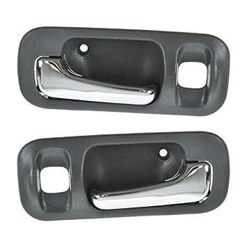 Inner Inside Interior Door Pull Handle Trim Pair Set for 94-98 Ford ...