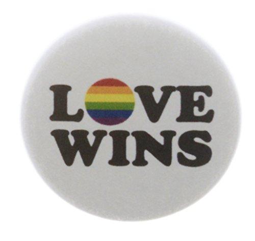 Love Pinback Button (Love Wins 1.25