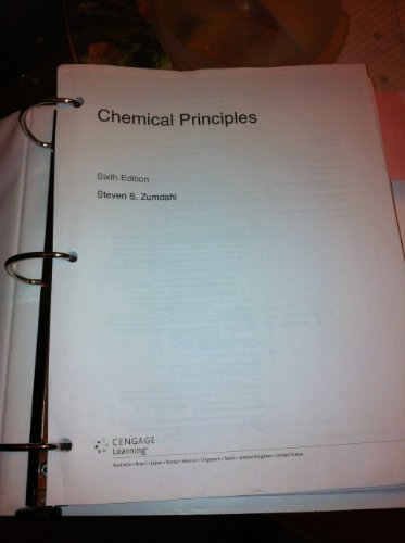 Chemical Principles [Zumdahl, Sixth Edition, 2011, Cengage Learning]