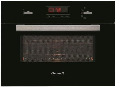 Brandt ME 1245 B Integrado 40L 1000W Negro - Microondas (Integrado ...