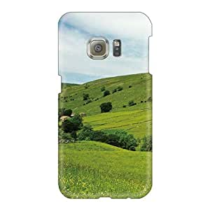Durable Hard Phone Cases For Samsung Galaxy S6 (ztb11630MBRw) Customized High-definition Spring Field Series