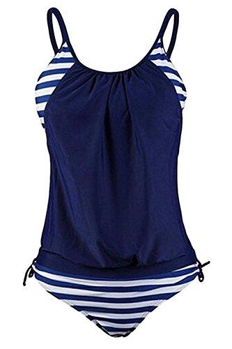 Mondicoco Aolakeke Stripes Tankini Swimwear