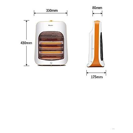 GAYY Calentador Solar Pequeño Calentador de Ahorro de Energía Calentadores Eléctricos Mini Calentador Eléctrico Estufa de