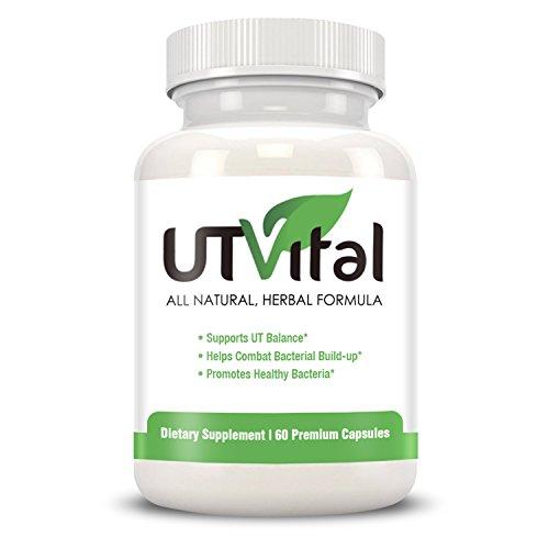 UTVital: Best UTI Treatment and Probiotics for Women 36x Stronger Cranberry Pills Lactobacillus Rhamnosus & Reuteri Hibiscus Powder Vitamin C & D 60 caps 1mth supply