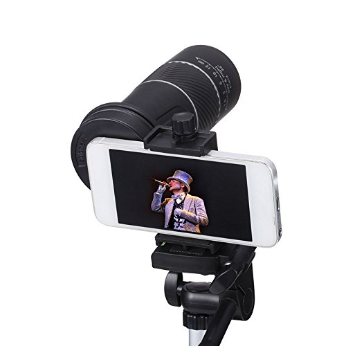 YU Monocular Telescope 8X40 High-Definition Mobile Phone Can Take Pictures of Outdoor Travel Concert Telescope,Black