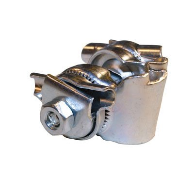 Bicycle Saddle Clamp - SbS Seat Rail Clamp, Silver