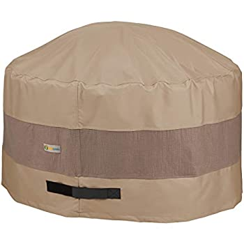 Amazon Com Duck Covers Elite Round Fire Pit Cover 36