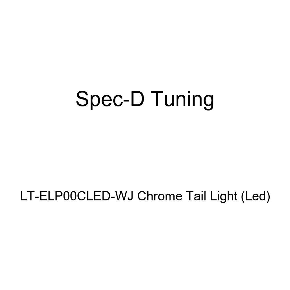 Led Spec-D Tuning LT-ELP00CLED-WJ Chrome Tail Light
