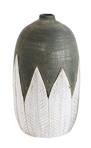 Heart of America Terracotta Hand Painted Vase