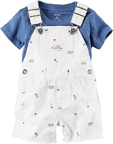 Carter's Baby Boys' 2 Piece Overall Set 6 Months