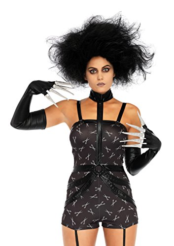 Leg Avenue Women's Creepy Scissorhands Sweetie Costume, Black, Small]()