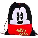 Saco com Alças Disney Vintage Mickey, 47 X 38, Dermiwil 51928, Multicor