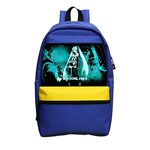 Custom Hatsune-Miku Anime Children School Bags Back Pack Kid's School Backpacks
