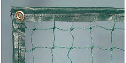 Har-Tru Tennis Court Accessories - Divider Netting Curtain - 12' High, Lead Rope Hem, Multiple Colors, Priced per linear foot