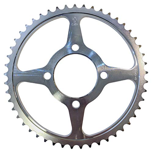 - JT High Carbon Steel Rear Wheel Sprocket Yamaha 02-Up TTR125 05-10 TTR125E 49T