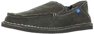 Freewaters Men's Escape Artist Slip-On Fashion Sneaker,Dark Grey,7 M US