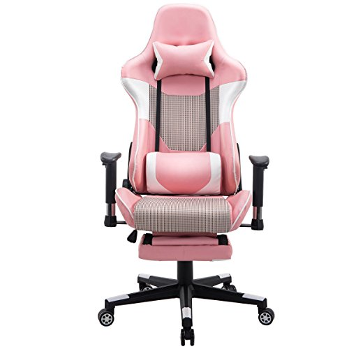 Giantex Gaming Chair Race High Back Racing Style Reclining