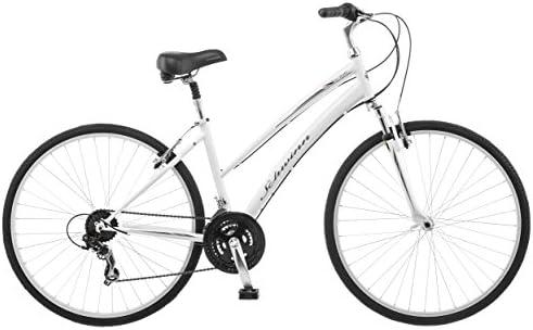 Schwinn Network 1.0 700c Bicicleta híbrida para mujer, 16 pulgadas ...