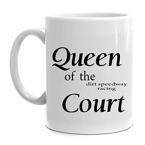 Eddany Queen of the Dirt Speedway Racing court Mug (Speed Queen Racing)