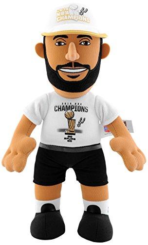 NBA San Antonio Spurs Tim Duncan 2014 Champions Plush Figure, 10-Inch, Black