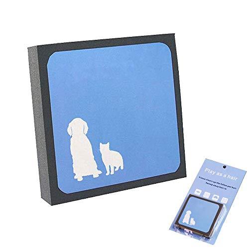 XEMI Pet Hair Cleaner, Reusable Hair Fur Remover for Pet Dogs Cats,Magic Pet Hair Foam Block Erasing for Furniture…