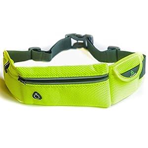"""""""Yunit running belt"""" sport belt - ifitness running belt - workout belt - smart phone belt holster - jogging belt - runners belt waist pack - running clothes for women men - adjustable for your waist."""