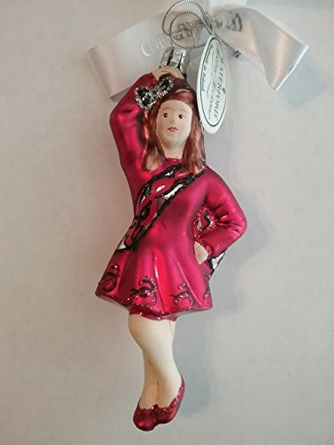 Waterford Holiday Heirlooms Irish Dancer Ornament 4th. Edition