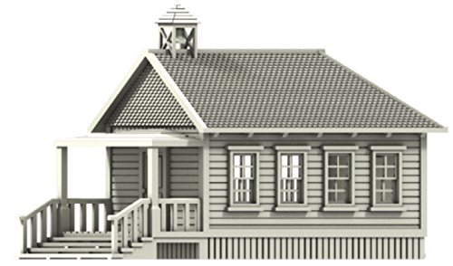 Scale Schoolhouse (N Scale Old West School House)