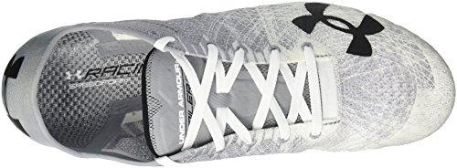 Onder Pantser Volwassene Speedform Miler 2, Staal / Wit / Zwart, Fout: #ref!