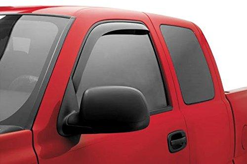 R&L Racing Smoke Window Visor Sun/Rain Guard Deflectors 2009-2015 for Dodge Ram 1500 Crew Cab