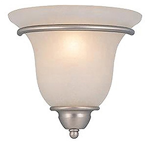 Monrovia Brushed Nickel 9.5 in. Wall Sconce