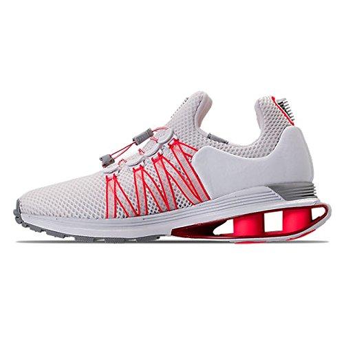 Nike Wmns Shox Tyngdekraften Dame Aq8554-106 Hvid / Universitet Rød-hvid-sol Rød tFIdtGa4DU