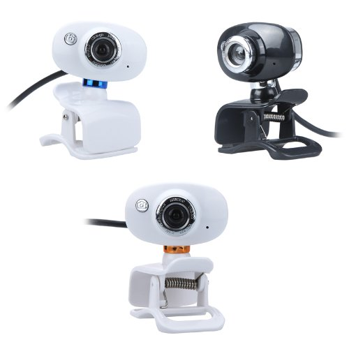Kingzer 50.0 Mega Pixel USB 2.0 HD Webcam Camera with MIC for PC Computer Laptop from KINGZER